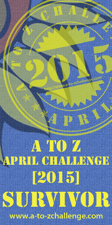 I survived the 2015 A-Z Challenge!